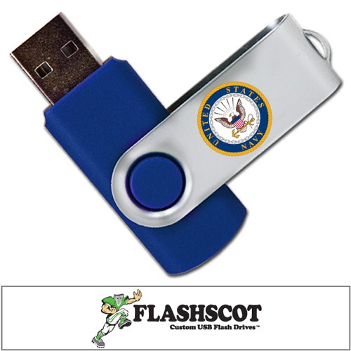 U.S. Navy Revolution USB Drive - 8GB