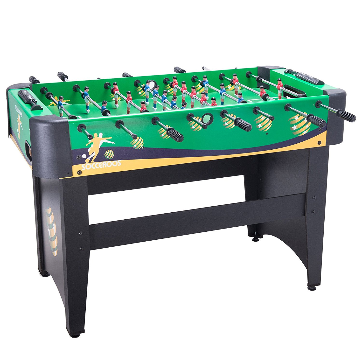 Pinty Foosball Table Soccer 48 MDF Construction For Family Use Game Room