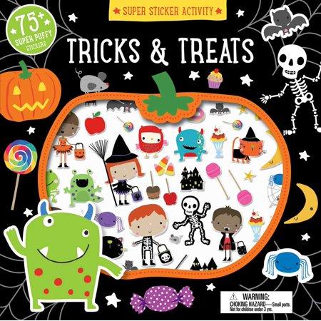 Super Sticker Activity: Tricks and Treats (Paperback)