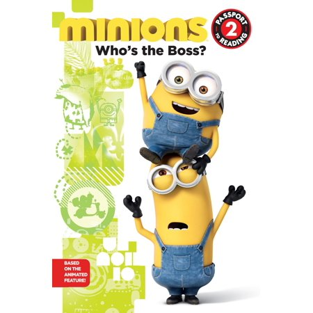 Minions: Who's the Boss? - eBook - Name Of The Minions