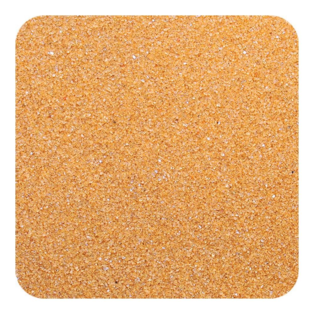 Sandtastik CS2836 Classic Colored Sand 28 oz. Bottle - Shake & Pour Lid - Cocoa