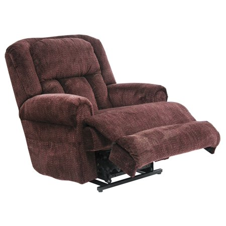 Catnapper Burns 4847 Power Dual Motor Infinate Position Full Lay Flat Lift Chair Recliner - Vino with In-Home Delivery and Setup