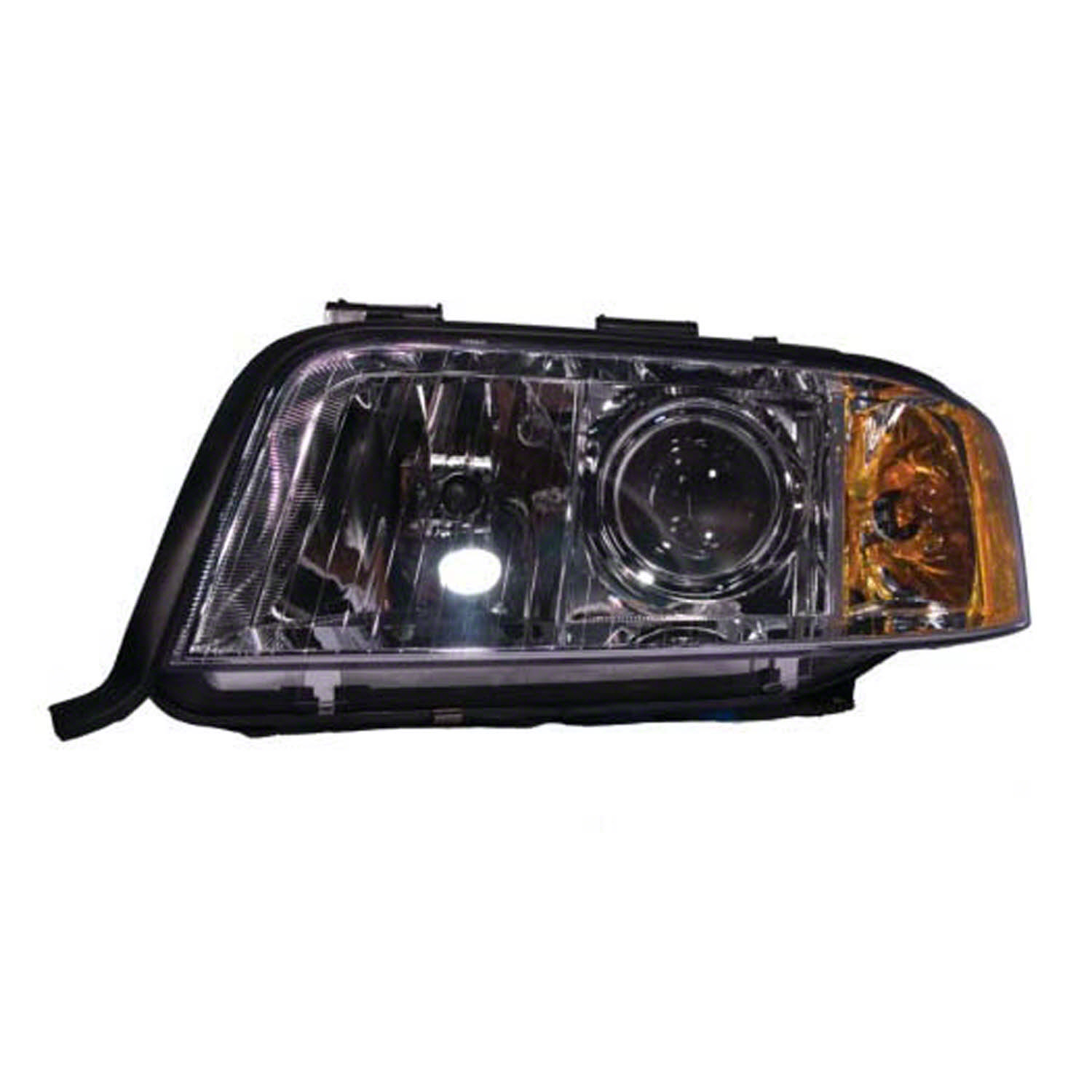 2002-2004 Audi A6  Driver Side Left Head Lamp Assembly 4B0941003BM incl HID Lamp