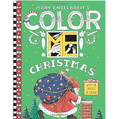 Mary Engelbreit's Color ME Christmas Coloring Book - image 1 of 1