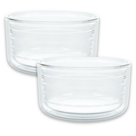 Kompass Drinkware Double-Walled Insulated 2-Pack Microwave safe Bowl with Lid 22 ounce (000 Bowls)