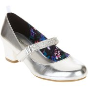 George S Rhinestone Heeled Dress Shoe