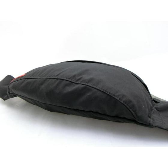 e2de3fc92c46 Prada - PRE-OWNED Tessuto Sports Fanny Pack Waist Pouch 231475 Black Nylon  Cross Body Bag - Walmart.com
