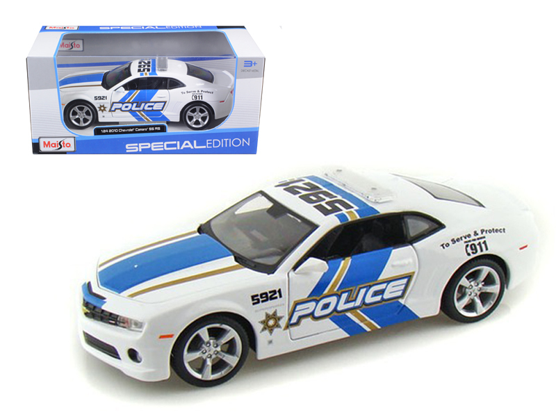 2010 Chevrolet Camaro RS SS Police 1 24 Diecast Model Car by Maisto by Diecast Dropshipper