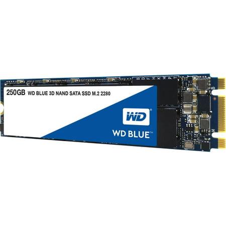 WD M2 2280 BLUE 3D NAND SATA SSD - 250 GB - WDS250G2B0B (Simpletech 250 Gb Portable Hard Drive)