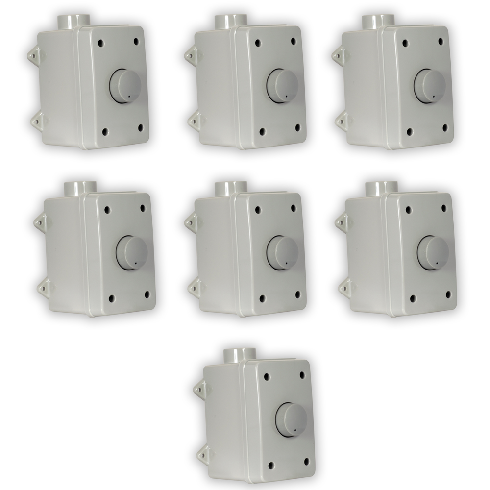 Theater Solutions OVCDG Outdoor Volume Controls Gray Weat...