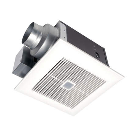 Panasonic FV-0511VQC1 110 CFM 0.3 Sone Ceiling Mounted Exhaust Fan with Motion