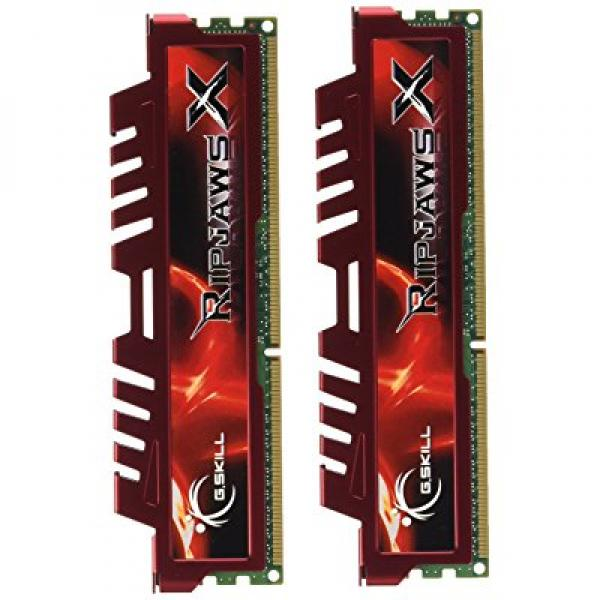 G.Skill RipjawsX 4GB (2 x 2GB) DDR3 PC3-12800 for Sandy Bridge (9-9-9-24) Dual Channel kit (F3-12800CL9D-4GBXL)