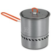 1.5L Outdoor Cook Pot Cooking Equipment Tools Portable Hiking Camping Picnic Backpacking Mountaineering Pot Cookware