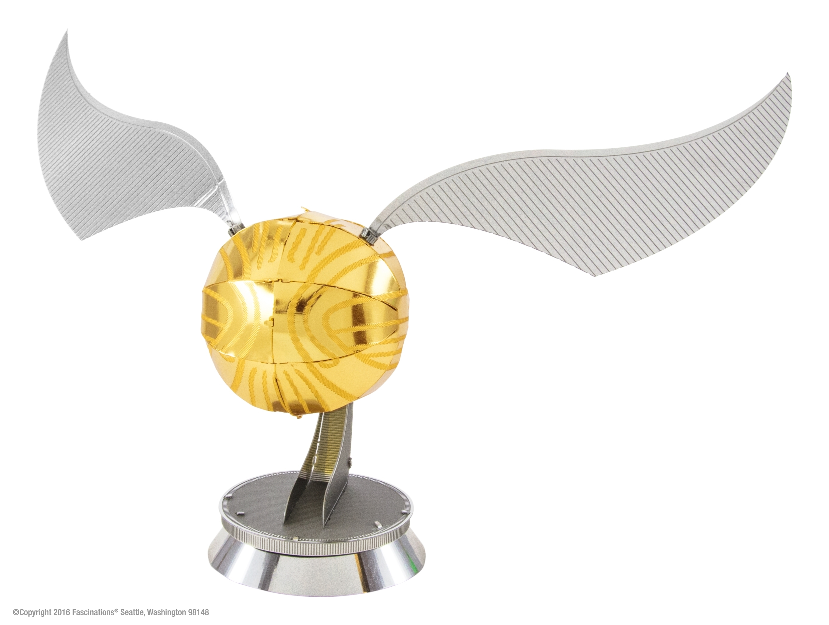 Fascinations Metal Earth 3D Metal Model Kit Harry Potter Golden Snitch by Fascinations