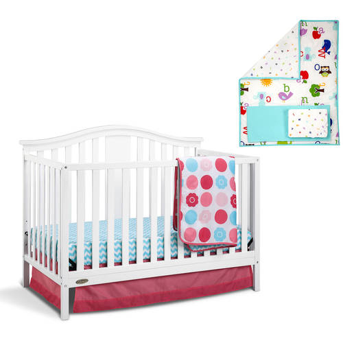 Baby Crib and Baby Bedding Solution Value Bundle