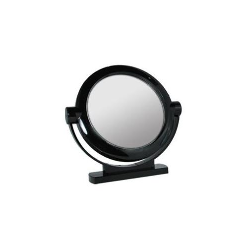 Rucci M820 5x and 1x Magnification Large Stand Mirror in Black & White Colors