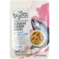 Purina Beyond Limited Ingredient, Natural, Grain Free Wet Dog Food Complement, Alaskan Salmon Recipe - (16) 2 oz. Pouches