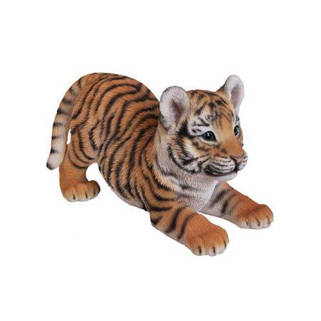 PLAYING TIGER BABY STATUE