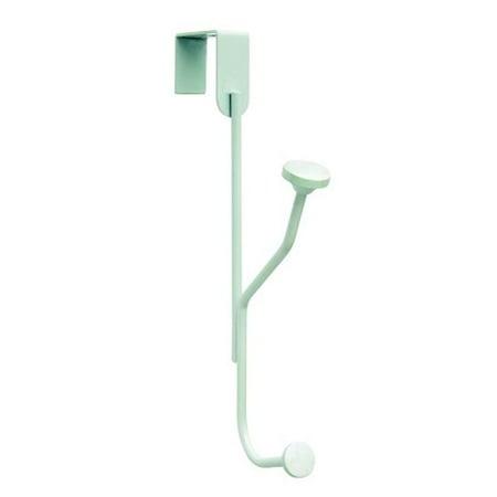 H55540GW 5.33 in. Single Over-the-Door Hook  White - Medium - image 1 de 1