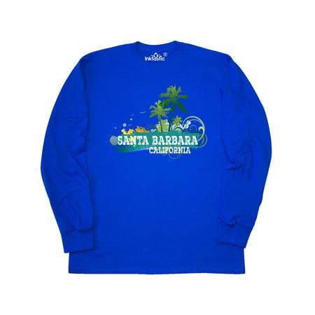 Santa Barbara California CA Beach Cities Long Sleeve T-Shirt