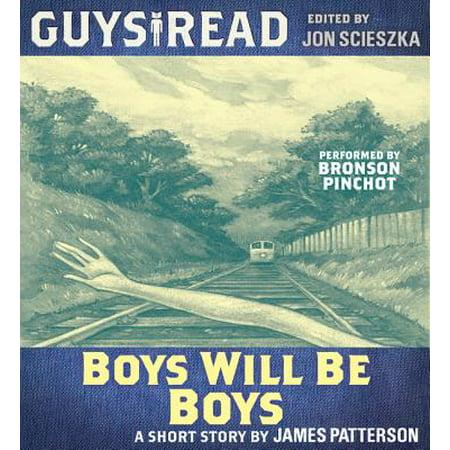 Guys Read: Boys Will Be Boys - Audiobook