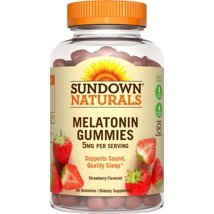 Sleep Aids: Sundown Naturals Melatonin Gummies