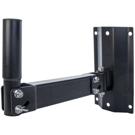 Seismic Audio New  WALL SPEAKER Stand Mount PA Install Black – SA-SWM2