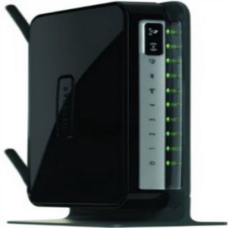 Netgear Modem - Router Combo N300 Wi-Fi Wireless ADSL2+, DGN2200, Black (New Open Box)