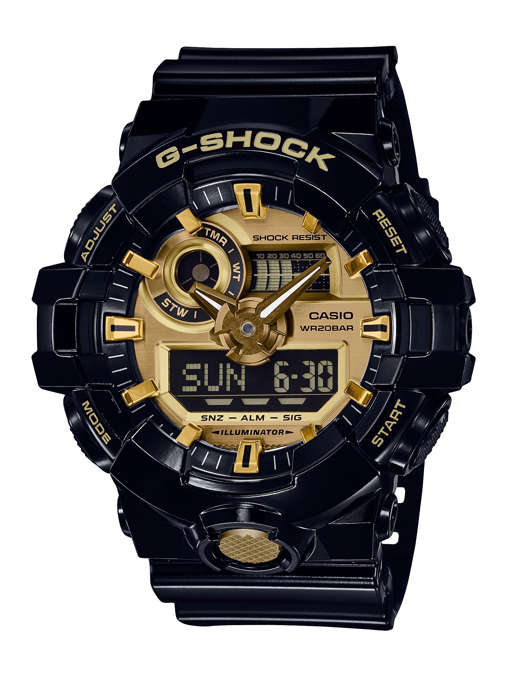 GA710GB-1A / Analog Quartz Watch
