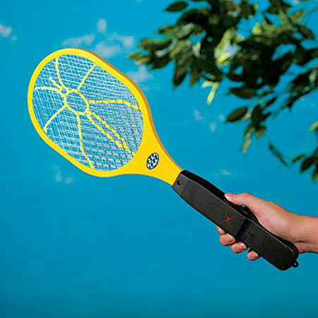 Electronic Bug Zapper Zaps Racket Fly Swatter Mosquito Killer - Best Indoor & Outdoor Pest (Best Indoor Fly Control)