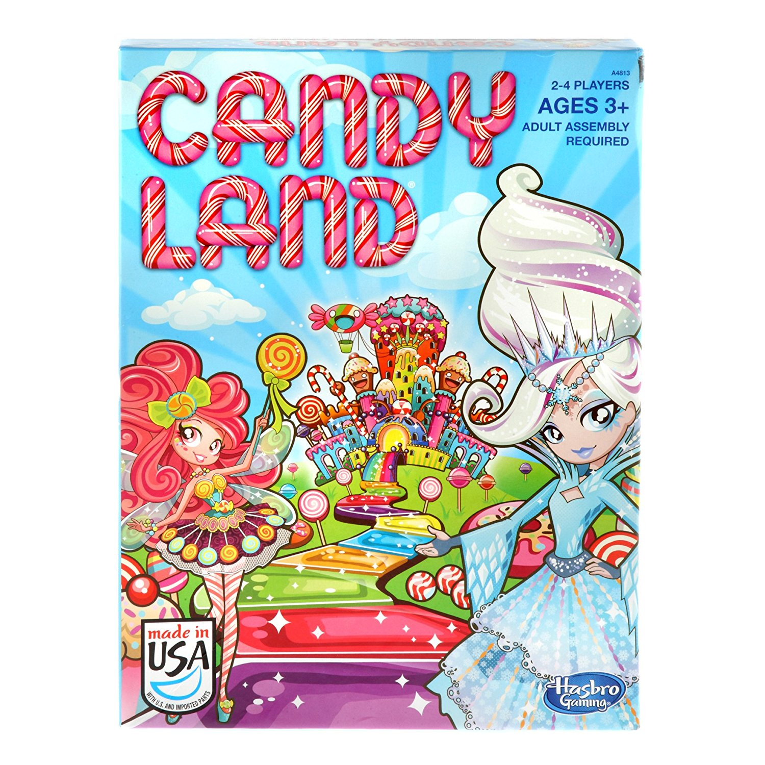 Candy Land Game, Classic Candy Land game features delicious-sounding destinations and... by