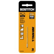 BOSTITCH 5/64-Inch Titanium Speed Tip Drill Bit, 2-Pack, BSA15TM