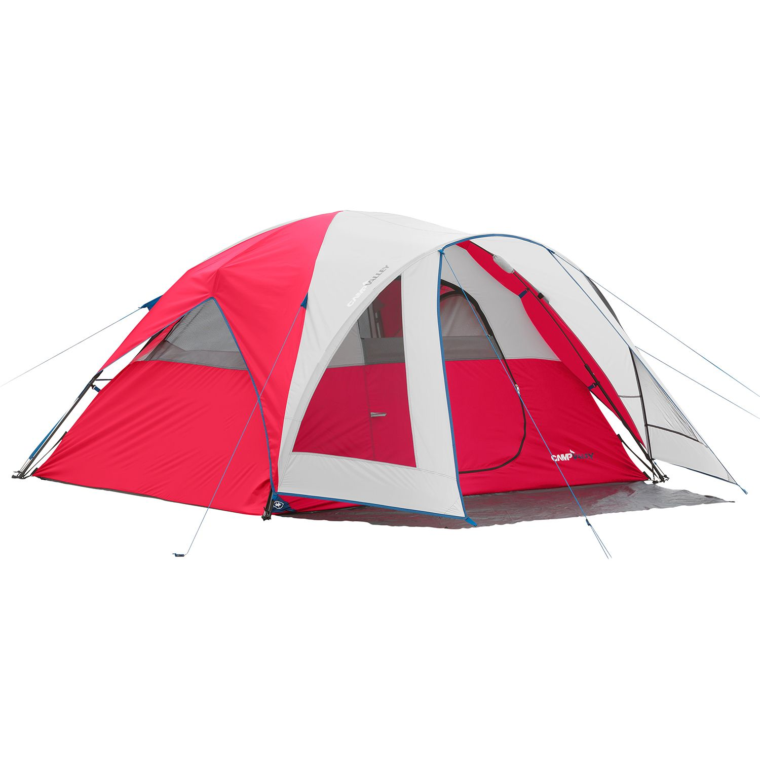 C&valley 4-Person Instant Dome Tent Red  sc 1 st  Walmart & Campvalley 4-Person Instant Dome Tent Red - Walmart.com
