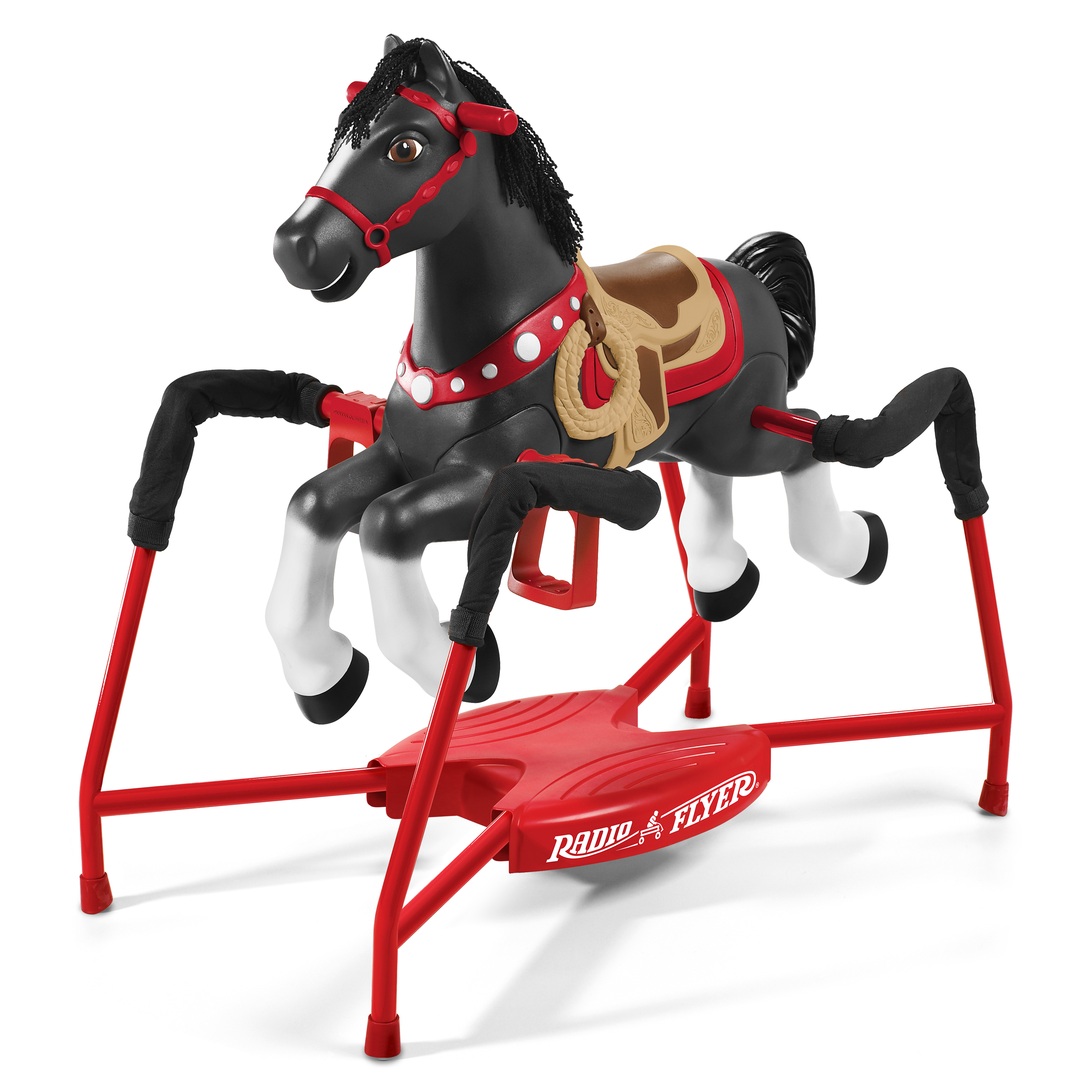 Radio Flyer Duke Interactive Spring Horse Ride-on