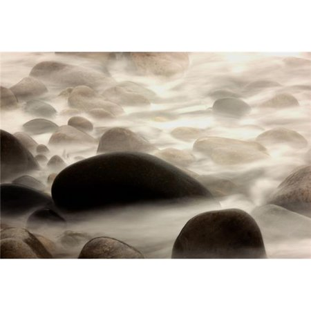 Posterazzi DPI1835245 Fog Rolling Over Rocks Poster Print, 18 x 12 - image 1 of 1