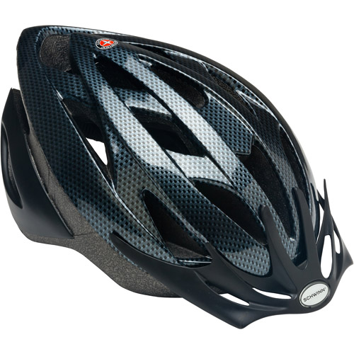 Schwinn Thrasher Boys' Bicycle Helmet, Carbon, Youth