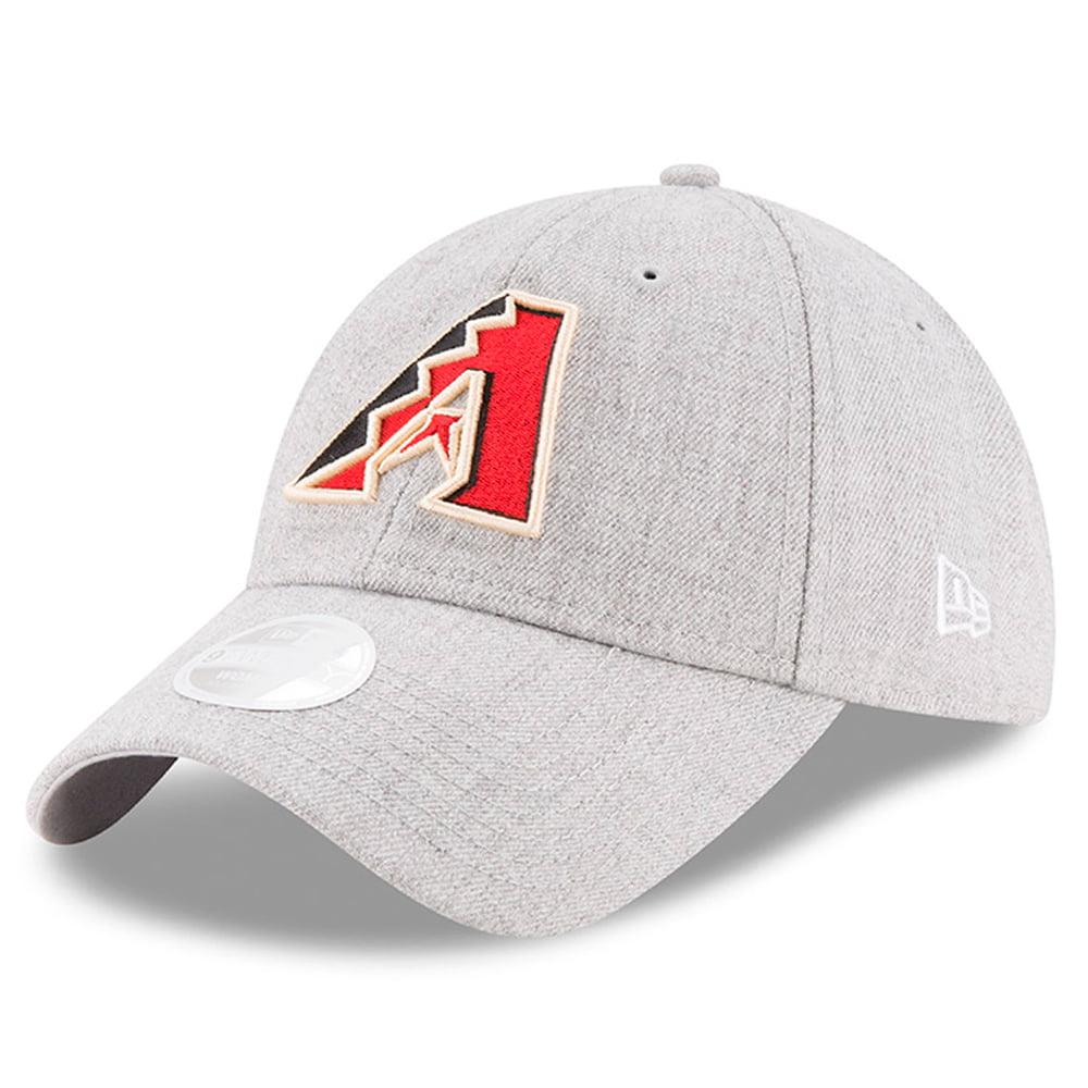 Arizona Diamondbacks New Era Women's Preferred Pick 9TWENTY Adjustable Hat - Heathered Gray - OSFA