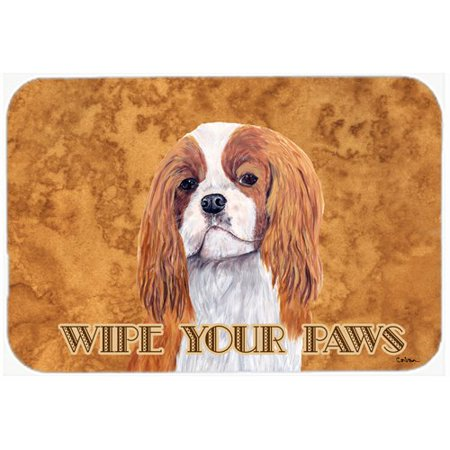 Cavalier Bath (Caroline's Treasures Cavalier Spaniel Kitchen/Bath Mat )