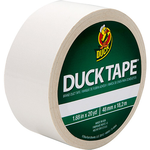 "Duck Brand Duct Tape, 1.88"" x 20 yard, White"