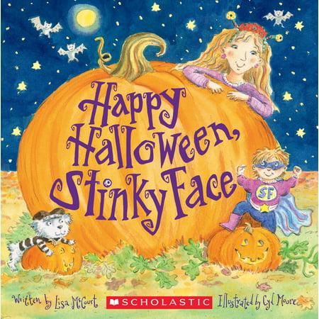 Happy Halloween Wicca (Happy Halloween, Stinky Face)