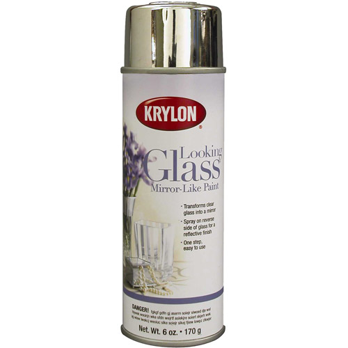 Krylon Looking Glass Mirror-Like Spray Paint 6 oz, #9033