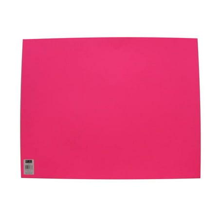 """(4 Pack) UCreate Foam Board, Neon Pink Poster Board Paper, 22"""" x 28"""", Single Sheet"""