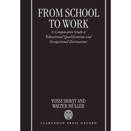 From School to Work: A Comparative Study of Educational Qualifications and Occupational Destinations