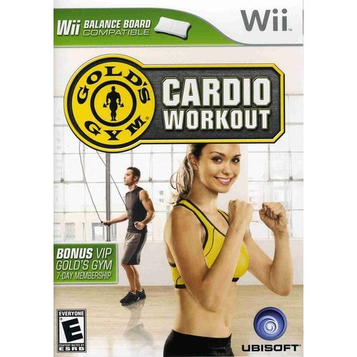 Wii - Gold Gym's Cardio Workout