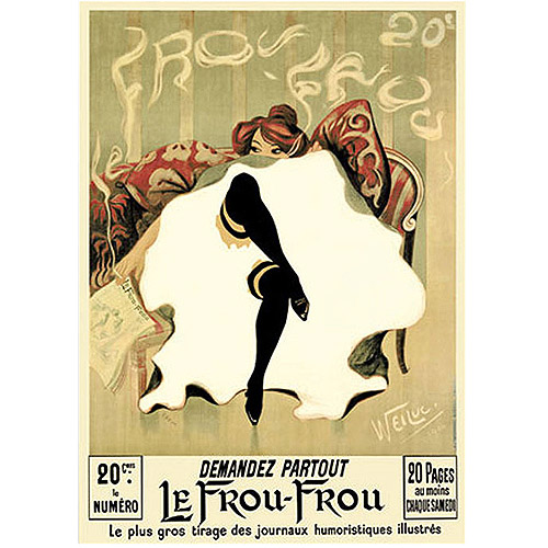 "Trademark Fine Art ""Le Frou Frou"" Canvas Art"