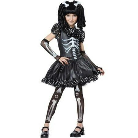 Skeleton Girl Child Costume
