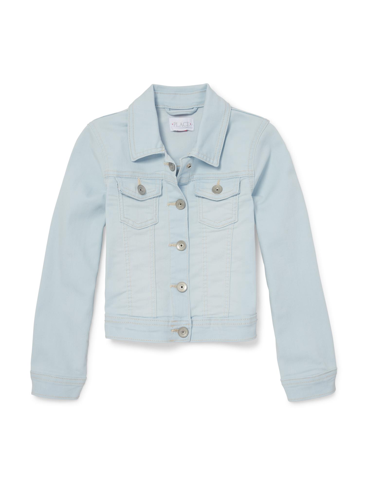 Destructed Denim Jacket (Little Girls & Big Girls)