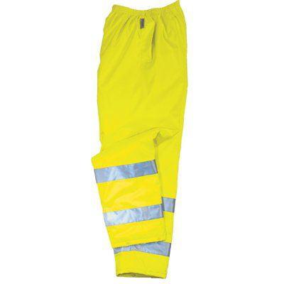 Glowear 8915 Class E Hi-Vis Rain Pants Lime 2Xl