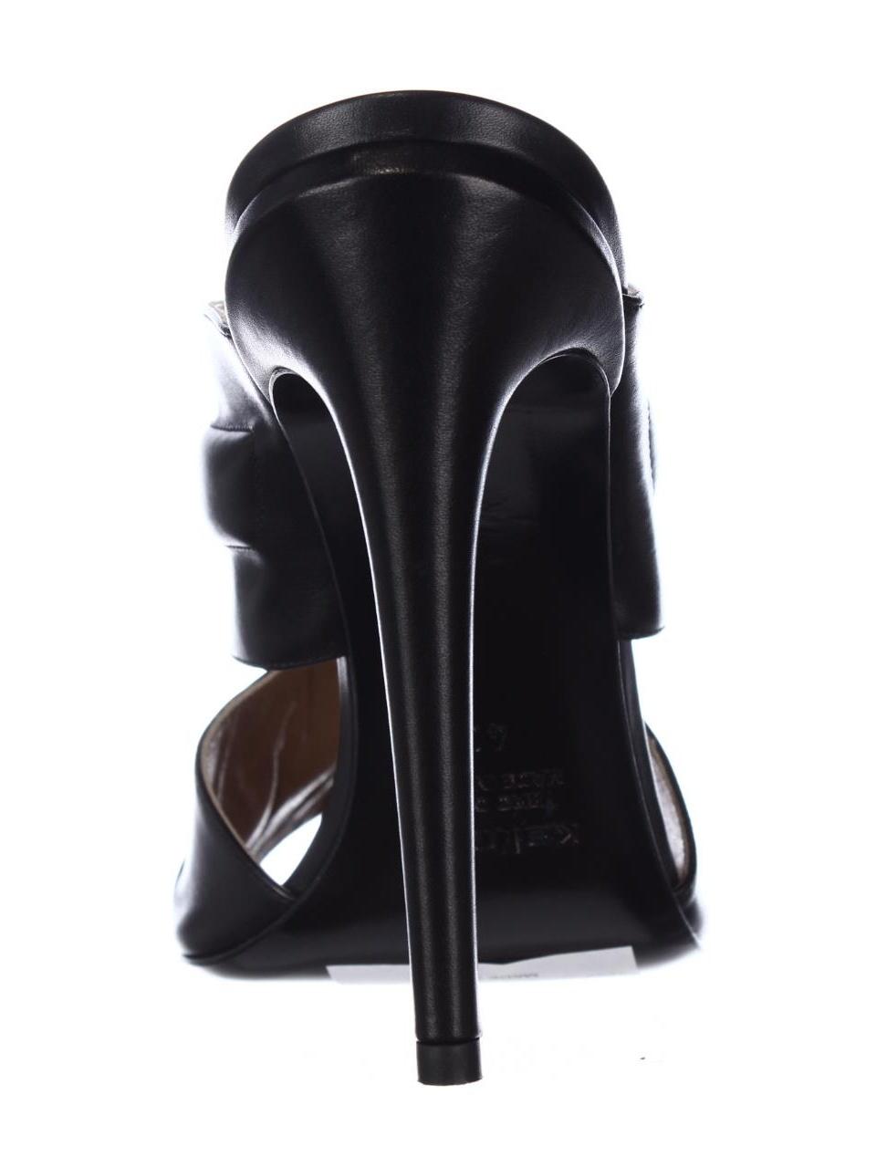 Womens Kalliste Almond-Toe 5259 Mule Almond-Toe Kalliste Dress Sandals, Nero 087392
