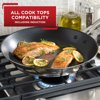 T-fal Expert Pro Stainless Steel with Nonstick Cookware, Frypan, 12 inch